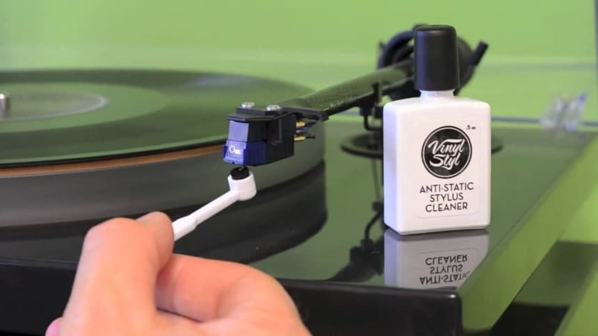 How to Clean a Record Player Needle