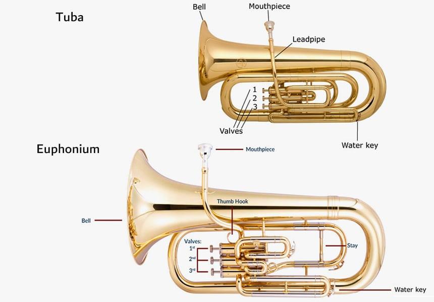 Euphonium vs. Tuba - The Difference Explained!