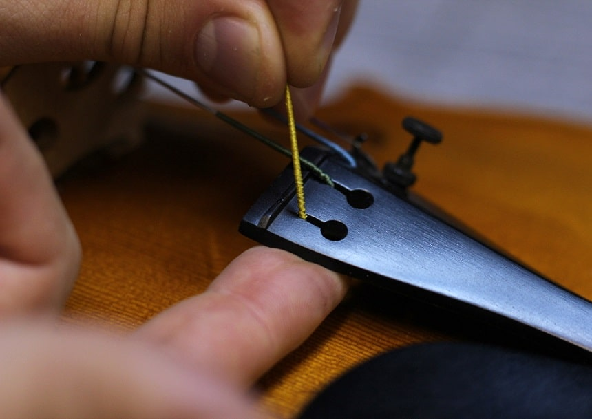 How to Change Violin Strings - Easy Steps